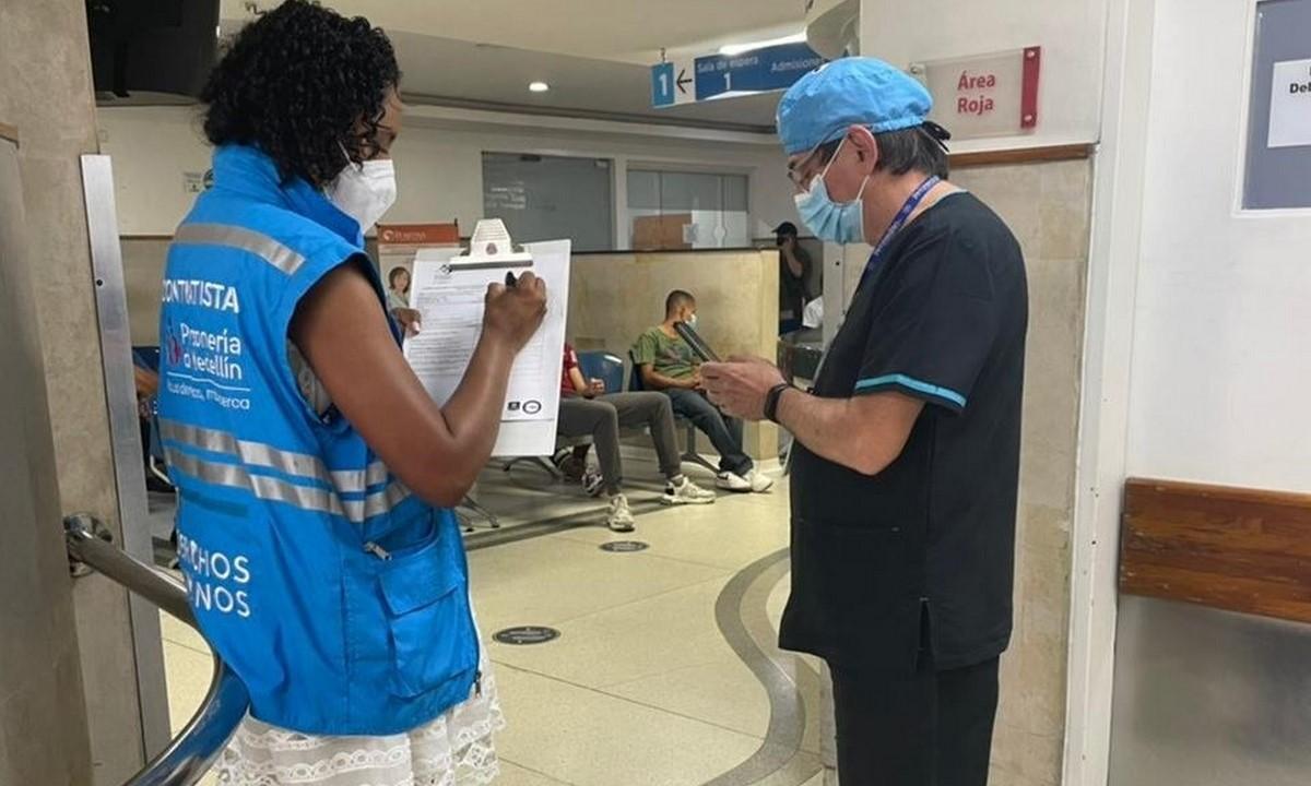 Urgencias saturadas en Medellín pero no por Covid
