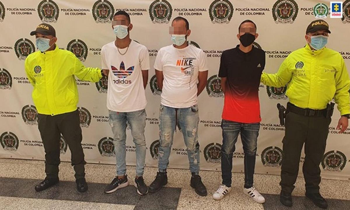 Encarcelaron a tres venezolanos que atacaron a la fuerza Pública en Medellín