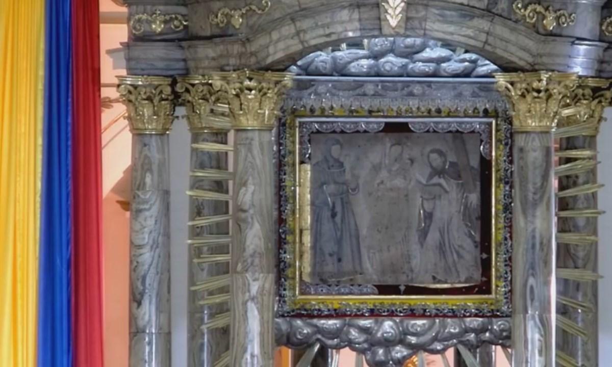 joyas Basílica de Nuestra Señora del Rosario de Chiquinquirá