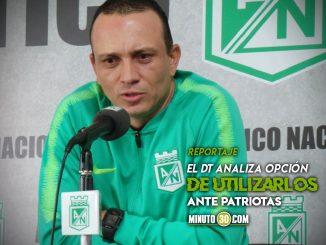 Alejandro Restrepo ya sabe hasta cuando contara con los convocados a Seleccion