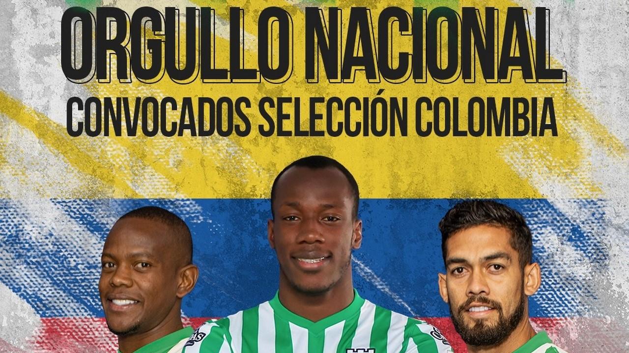 Atletico Nacional convocados Seleccion Colombia