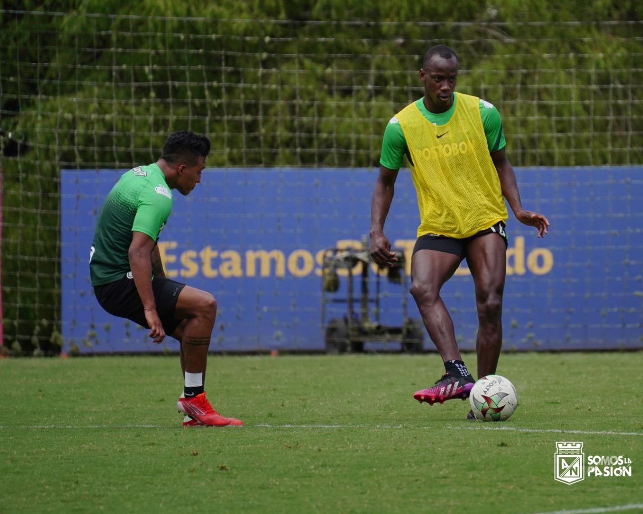 Atletico Nacional entrenamiento 3