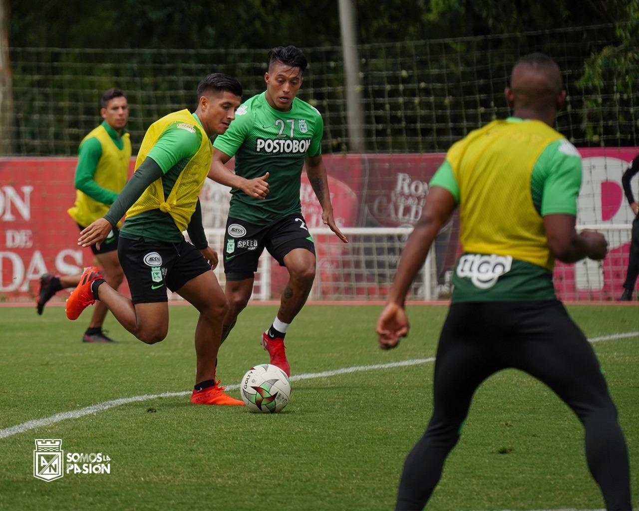 Atletico Nacional entrenamiento 4