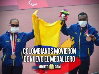 Bandera de Colombia se sigue ondeando con fuerza en Juegos Paralimpicos