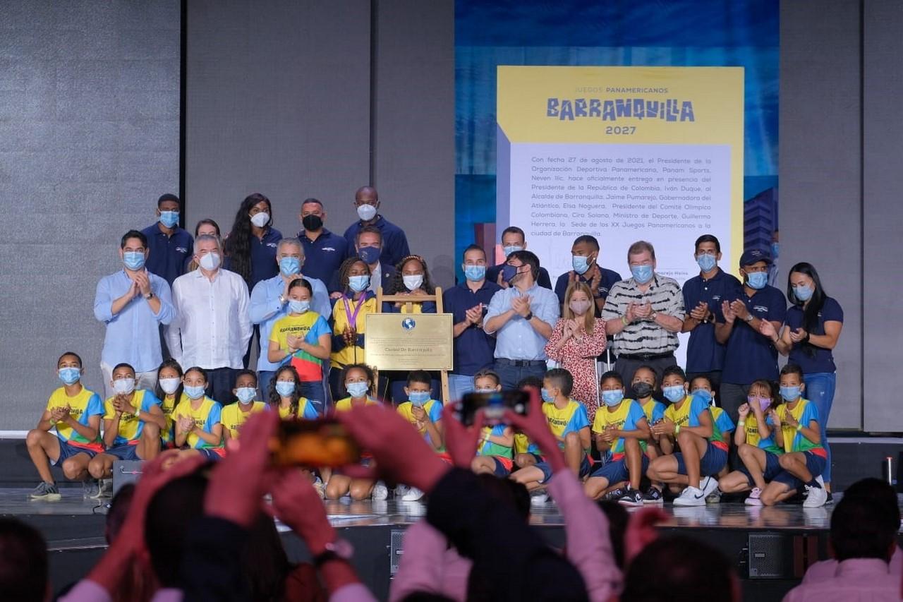 Barranquilla confirmada como sede de los Juegos Panamericanos del 2027