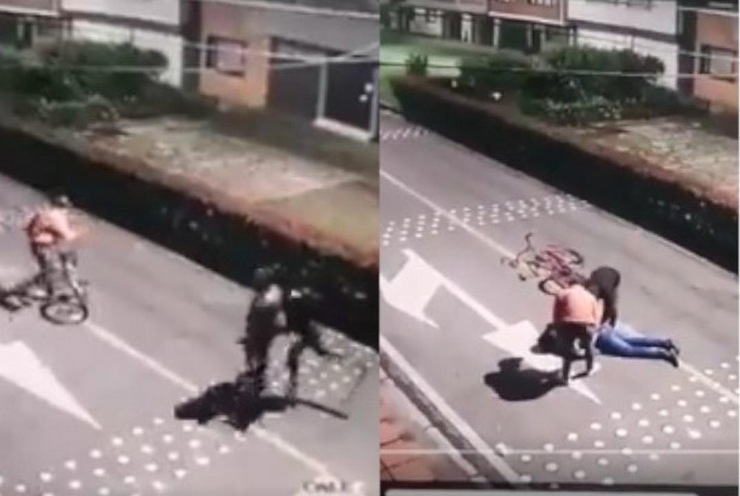 VIDEO: ¡Qué miedo tanta inseguridad! A sangre fría asesinaron y robaron a un hombre en Bogotá - Noticias de Colombia