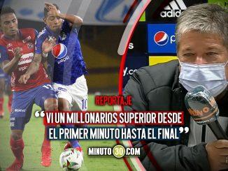 Bolillo no se explica por que cambia tanto Medellin de un partido a otro 1