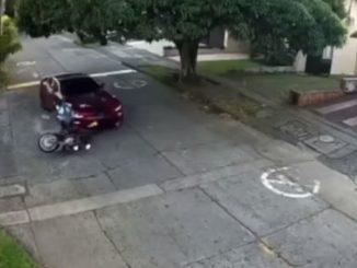 Conductor atropelló a un presunto ladrón en Cali