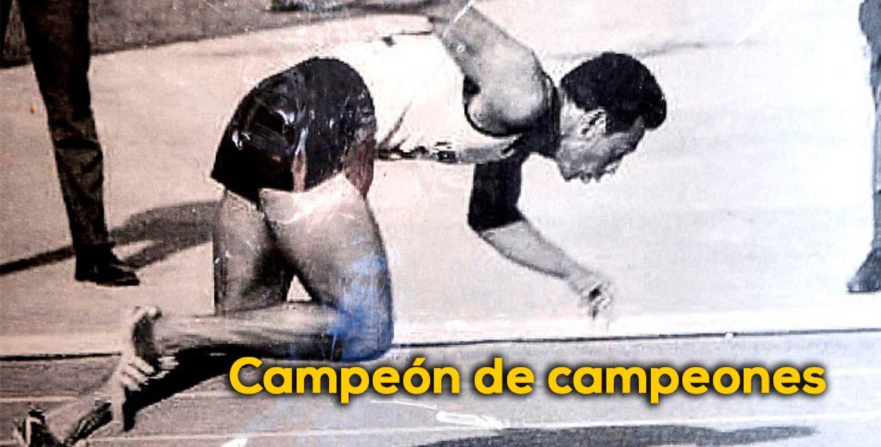 Campeón Pedro Grajales y zambrano