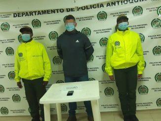 Enviaron a la cárcel a presunto extorsionista de comerciantes en el norte de Antioquia