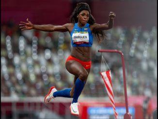 ¡Gracias Caterine Ibargüen! La atleta se despidió hoy de los juegos Olímpicos