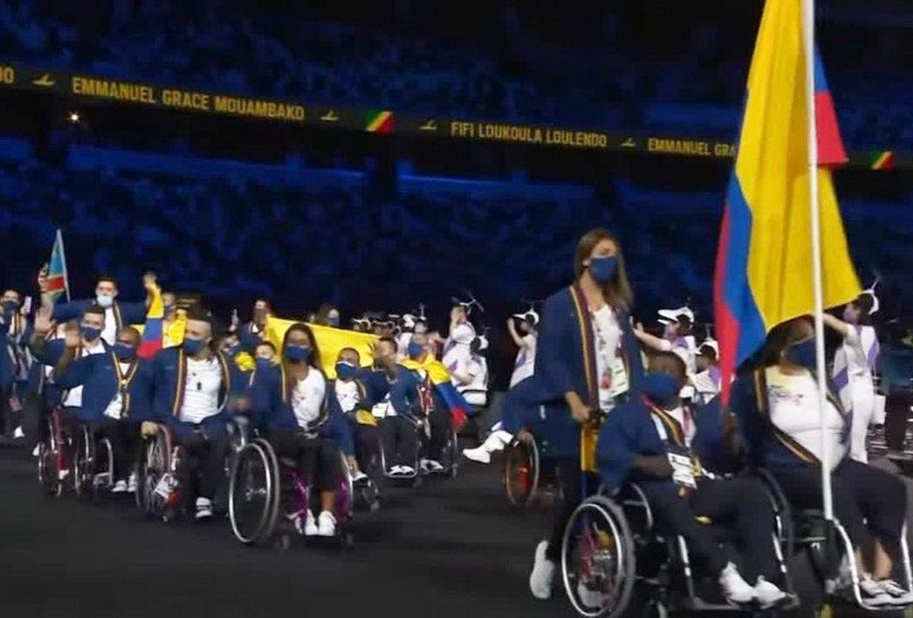 Colombia en inauguracion Juegos Paralimpicos 3