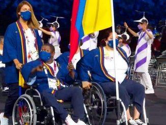 Colombia en inauguracion Juegos Paralimpicos 4