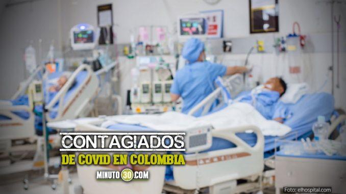 Siguen aumentando los contagios de Covid en Colombia, hoy reportaron 1.369 casos nuevos