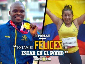 Deportistas paralImpicos emocionados con sus conquistas