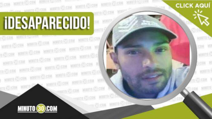 Diego Armando Taborda Chaverra está desaparecido hace 20 días