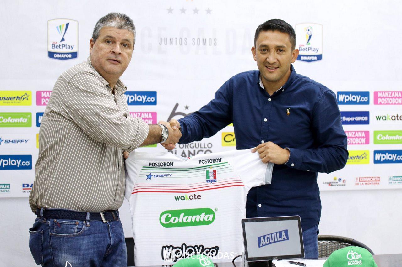 Diego Corredor llega al Once Caldas 2