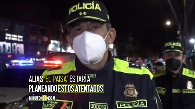 Incautaron al menos 149 barras de pentolita para cometer atentados en Bogotá