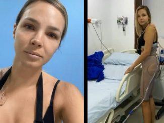 Elizabeth Loaiza nalga sin biopolimeros