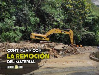 En video quedó registrado el movimiento de masa en el sector La Culebra de Valdivia, Antioquia