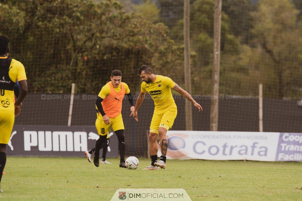 Entrenamiento Independiente Medellin agosto 2