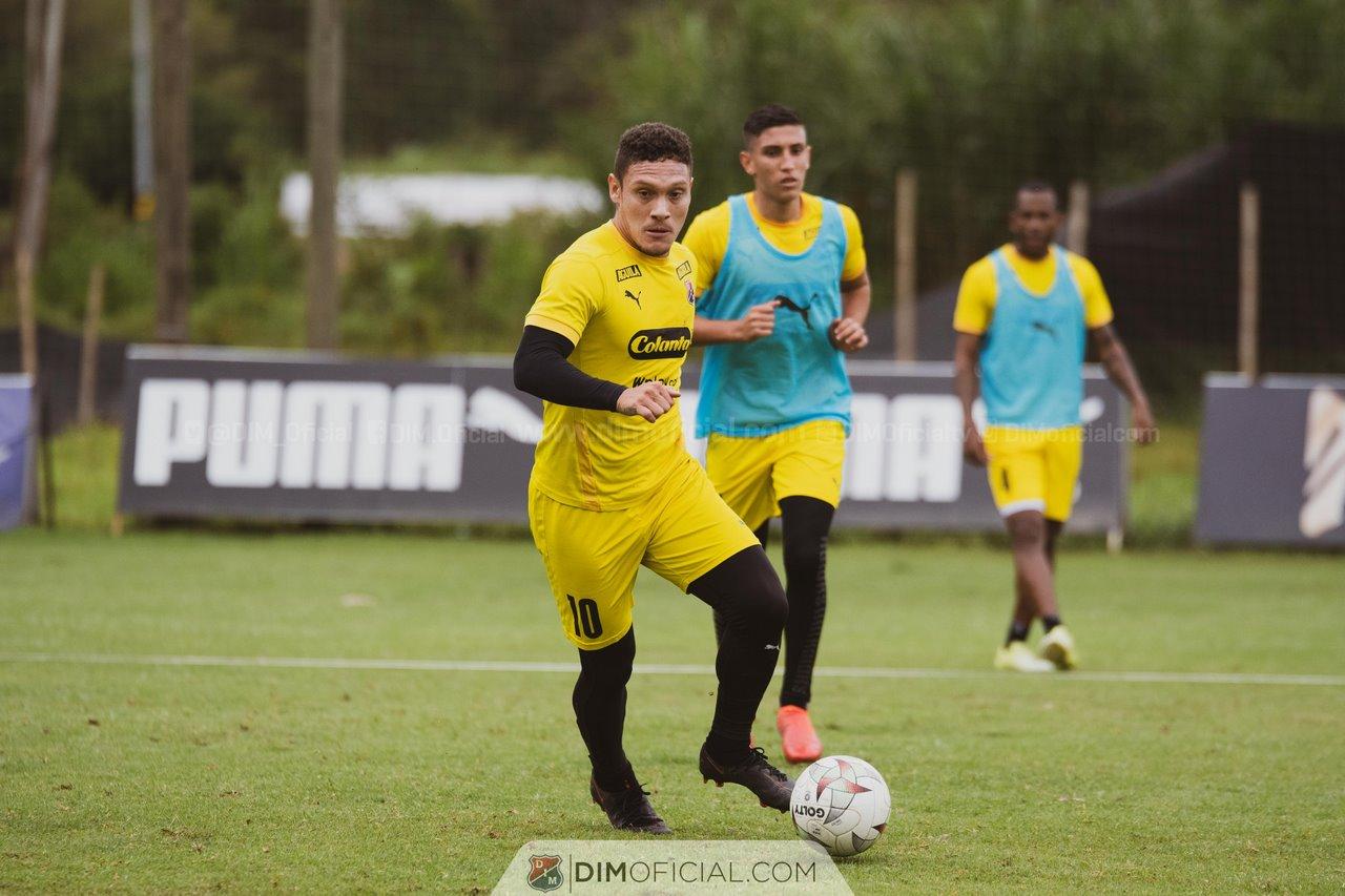 Entrenamiento Independiente Medellin agosto 3