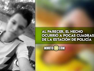 Balacera en El Bagre dejó un joven muerto y un herido