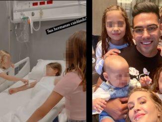 Hospitalizaron a hijas de Falcao en Turquia