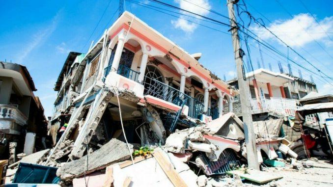 Hoy tembló otra vez en Haití, reportaron un sismo de una magnitud de 5.2