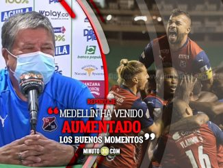 Hernan Dario Gomez satisfecho con el empate que logro Medellin ante Cali