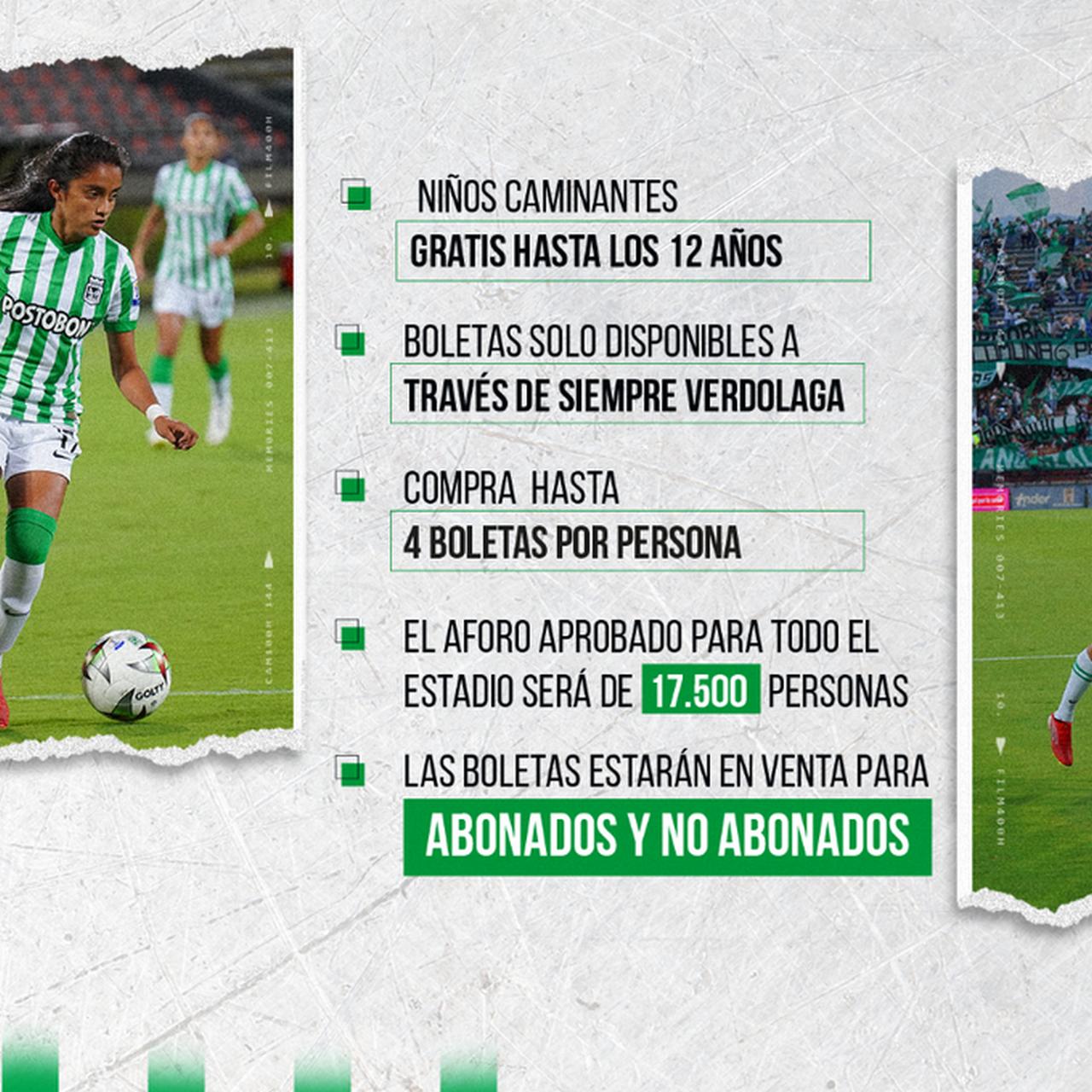 Hinchas de Nacional podran asistir al partido de la fecha 7 de la Liga ante Aguilas 3