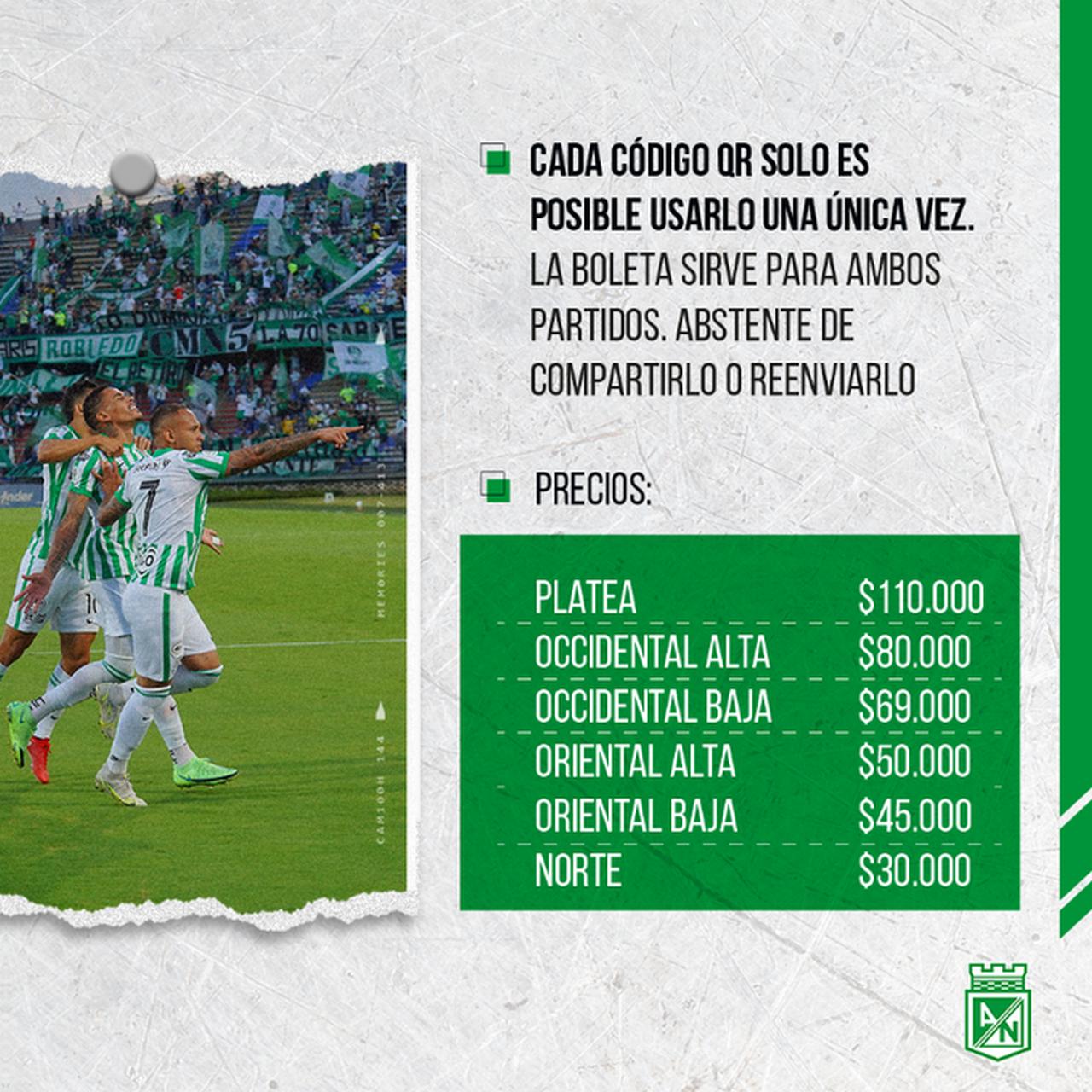 Hinchas de Nacional podran asistir al partido de la fecha 7 de la Liga ante Aguilas 4