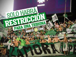 Hinchas de Nacional podran asistir al partido de la fecha 7 de la Liga ante aguilas