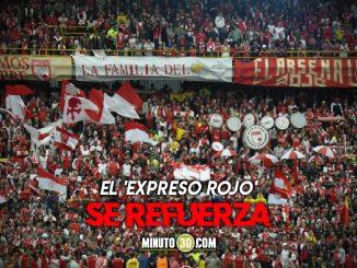 Independiente Santa Fe anuncio contratacion de delantero argentino