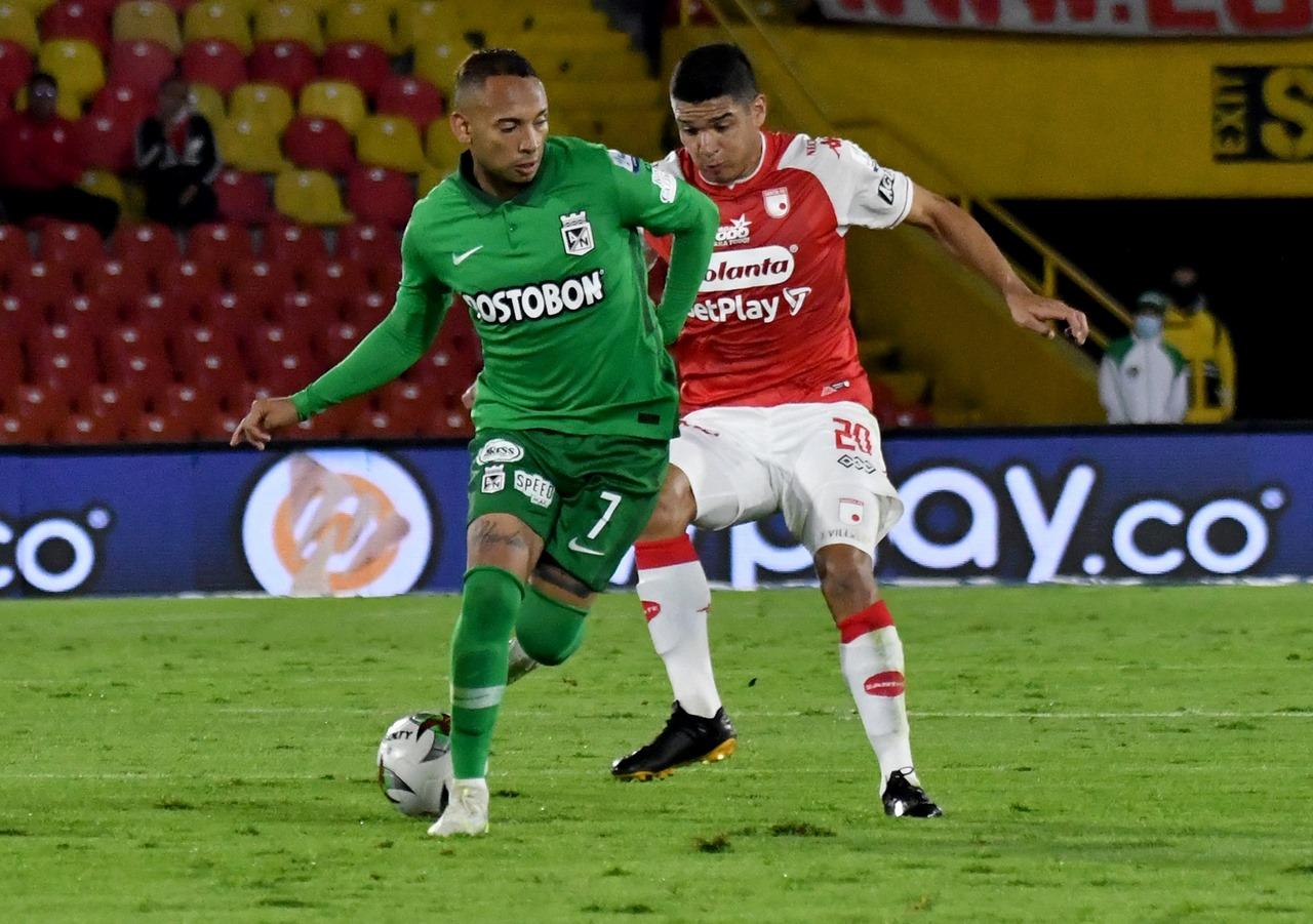 Independiente Santa Fe vs Atletico Nacional fecha 3 de la Liga II 2021 4