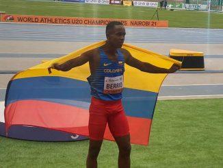 Jhon Berrio atleta