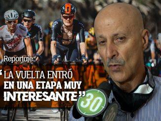 Jorge Ovidio Gonzalez presagia doble presencia colombiana en el podio de la Vuelta a Espana