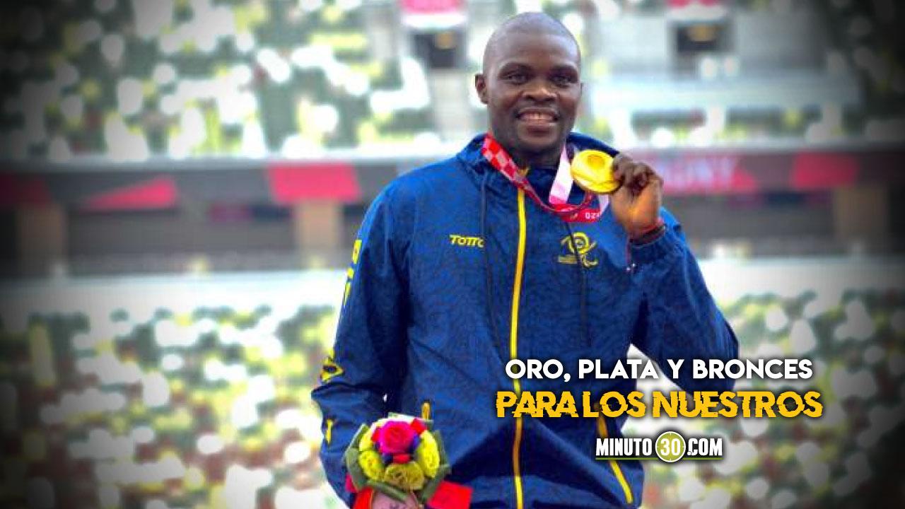 Jornada memorable para Colombia en los Juegos Paralimpicos