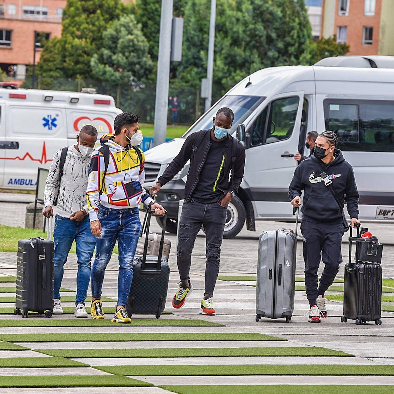 Jugadores comienzan a unirse a la concentracion de la Seleccion Colombia 1