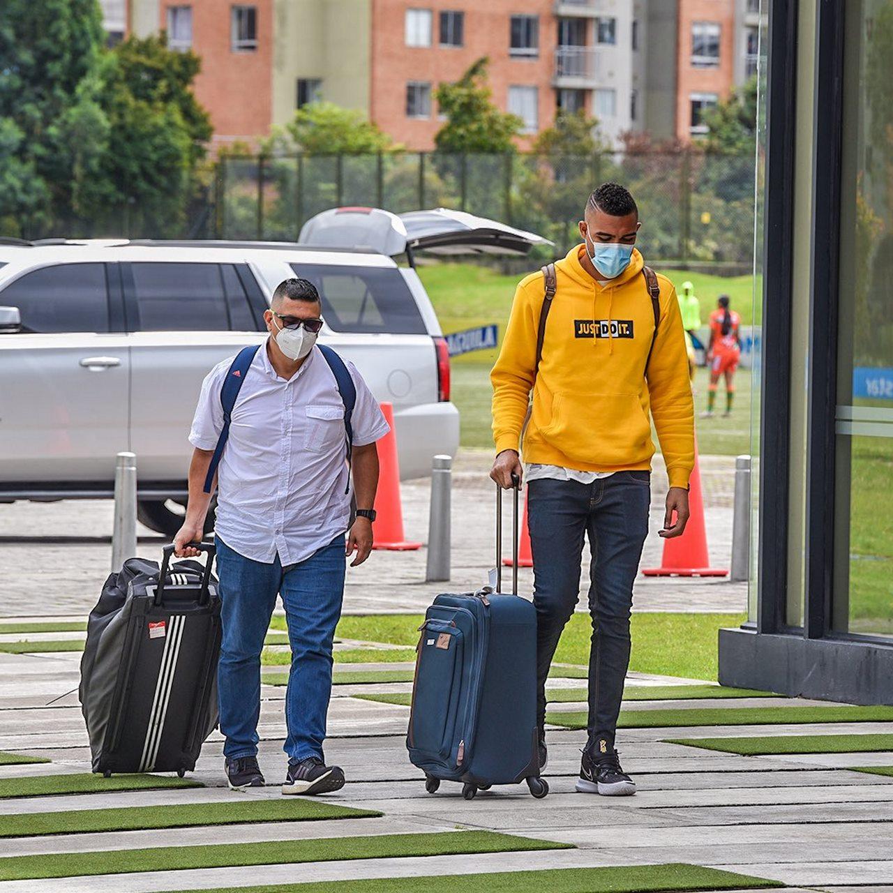 Jugadores comienzan a unirse a la concentracion de la Seleccion Colombia 3