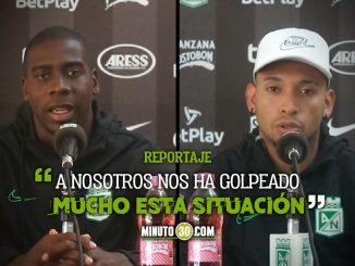 Jugadores de Nacional se solidarizan con compaNeros que no pueden jugar