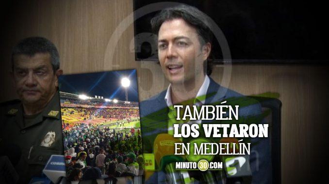 La barra de Nacional de Bogotá no podrá asistir al Atanasio: Daniel Quintero