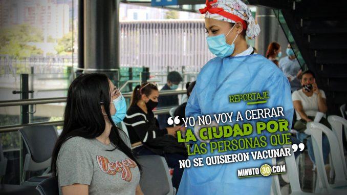 Vacunación Medellín