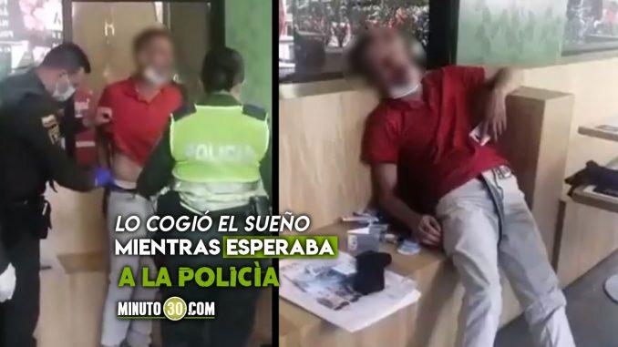 Lo que realmente sucedió con el 'ladrón dormilón' en El Poblado