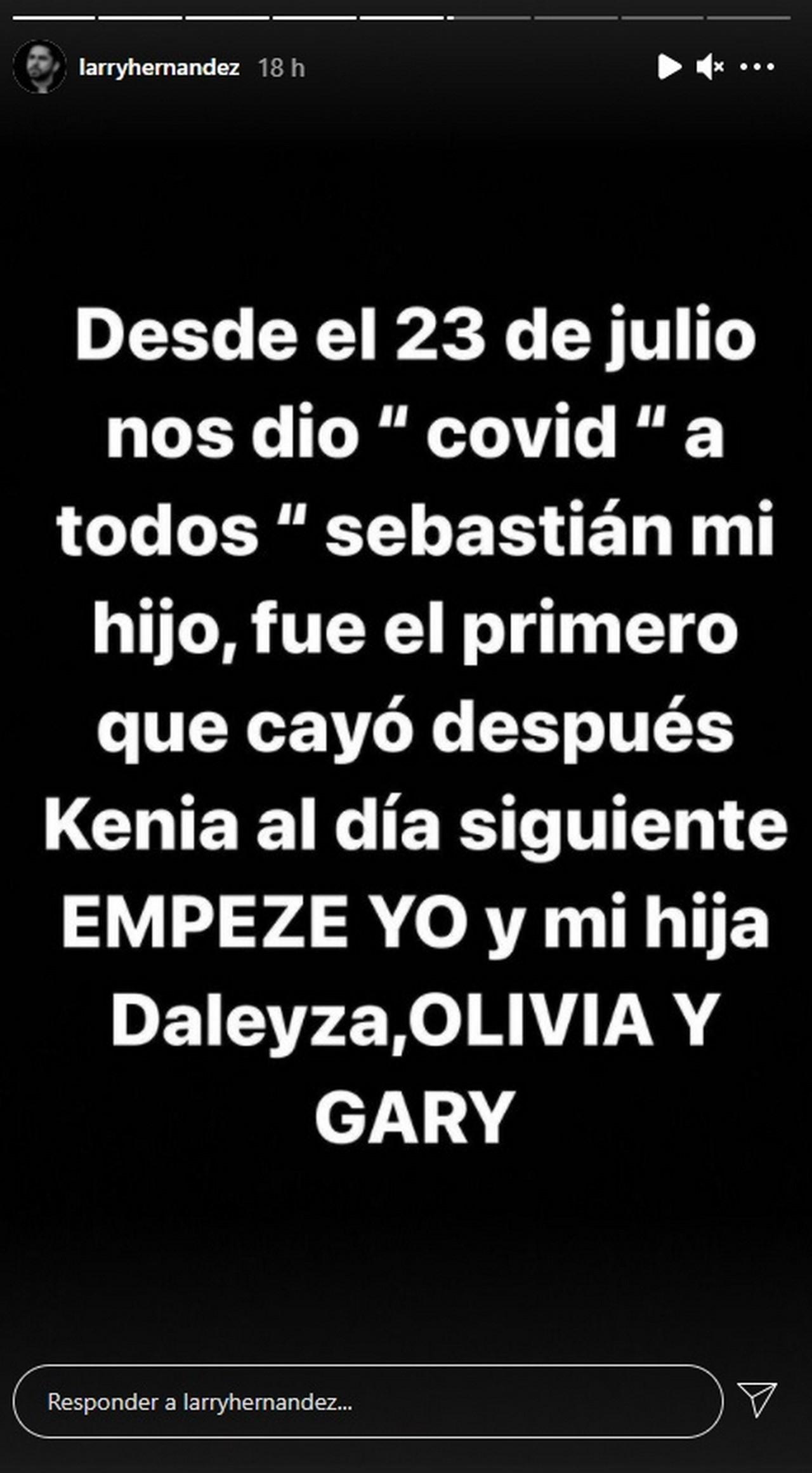 Larry Hernandez le dio covid 19 3