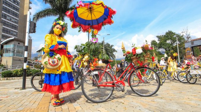 La celebración de la Feria a Ritmo de Bicicleta