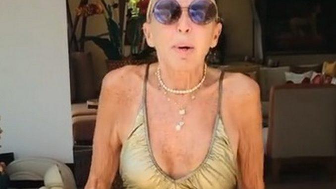 Laura Bozzo bailando en traje de baño a días de cumplir 70 años - Noticias de Colombia