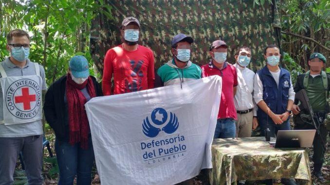 Liberaron a cuatro personas que permanecían secuestradas en el Catatumbo