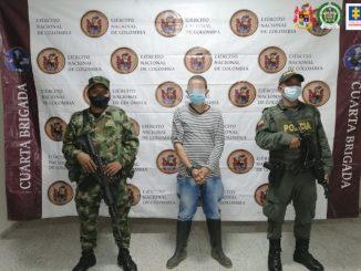 "A la cárcel alias ""Machín"" por homicidios de reincorporados en Antioquia"