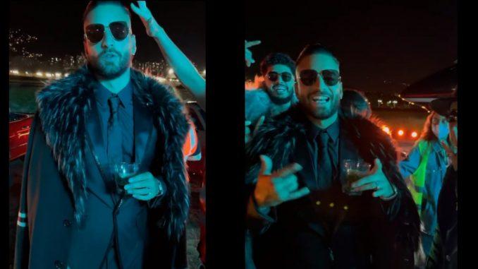 """Maluma está en Medellín en el rodaje del video musical de su nuevo tema """"La Nueva del Mapa"""""""